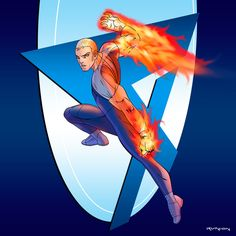 Fantastic Four: Human Torch by ~arunion