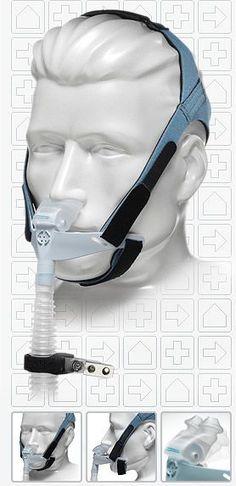 Face CPAP Masks for treating sleep apnea, oh, oh terrifies me!