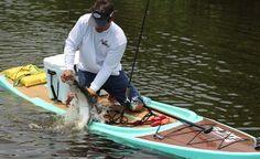 Bote Board Fishing. #reellife #gearthatfitsyourlifestyle www.reellifegear.com
