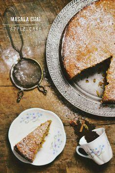 Масала чай яблочный пирог по abrowntable через Flickr
