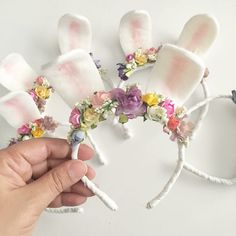 Easter headband easter hair bows easter gifts easter outfit find this pin and more on babyphotography negle Image collections