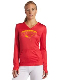 Puma Apparel Women's Performance Long-Sleeve Coverup Hoodie $16.36 - $40.00