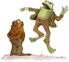 Frog and Toad were my all-time favorite characters as a child.