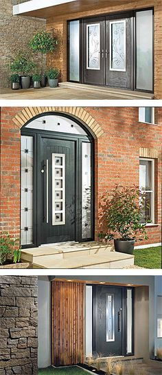 Hillview Windows is now supplying and installing a fantatsic NEW range of contemporary, composite doors. Glazed Doors, Composite Door, Composition, Garage Doors, Windows, Contemporary, Outdoor Decor, Home Decor, Products
