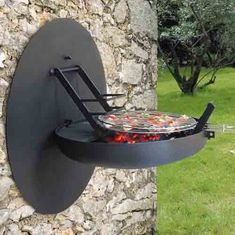 wall #barbecue