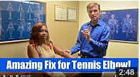In this video, see an amazing way to help get relief from tennis elbow! https://www.youtube.com/watch?v=DSyui8tH_Gg