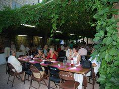 les-vendredis-classiques, repas dans les jardins de l'abbaye, Caunes Minervois