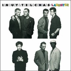 Ian Dury And The Blockheads Laughter on Limited Edition Import LP It is not difficult to call Ian Dury the very epitome of British rock music in the '70s. The rough charm of his bawdy Cockney accent,