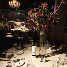 Beautiful Wedding Reception   The Ivory Room   Wedding Wednesday   Centerpieces by Bloomtastic Flowers & Events   Cameron Mitchell Premier Events