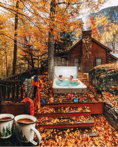 Charming Ideas for Modern Hippie Lifestyle Location Airbnb, Ideas De Cabina, Off Grid, Getaway Cabins, Cozy Cabin, Stay The Night, Cabins In The Woods, Fall Season, Tiny House