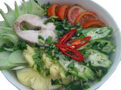 Let's Vietnamese: Vietnamese Sour Fish Soup - Learn Vietnamese. Enjoy Vietnamese life - (collected by Vòng Vòng Việt Nam School)