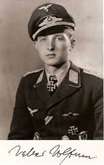 Walter Wolfrum(23 May 1923 – 26 August 2010)  He is credited with 137 aerial victories . He was also a recipient of theKnight's Cross of the Iron Cross