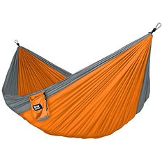 Neolite Trek Camping Hammock - Lightweight Portable Nylon Parachute Hammock for Backpacking, Travel, Beach, Yard. Hammock Straps & Steel Carabiners Included Fox Outfitters http://www.amazon.com/dp/B00XOO8Z7Y/ref=cm_sw_r_pi_dp_y44ywb08V3VTV