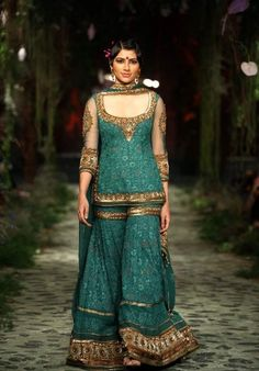 Tarun Tahiliani's Green statement