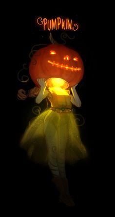 Pumpkin by Mireys on DeviantArt Halloween Pictures, Scary Halloween, Vintage Halloween, Halloween Pumpkins, Pumpkin House, Pumpkin Art, Pumpkin Carving, Pumpkin Head, Pumpkin Tattoo