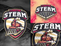 Leighton Steam Logo by midnight7design - Dribbble