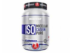 ISO Casein Micellar Pure Profissional Whey Protein - 480g Baunilha - Midwaylabs