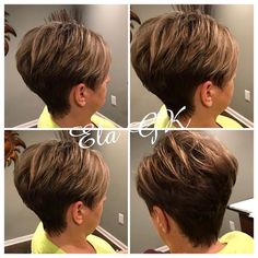 The Short Pixie Cut - 58 Great Haircuts You'll See for 2019 - Hairstyles Trends Short Hair Undercut, Short Pixie Haircuts, Pixie Hairstyles, Latest Hairstyles, Haircut For Older Women, Short Hair Cuts For Women, Short Hair Styles, Best Pixie Cuts, Stylish Short Hair
