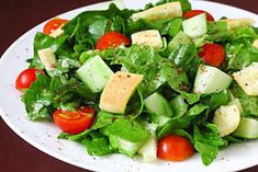 This Lebanese Fattoush Salad recipe is a delicious combination of fresh veggies, a bright citrus dressing, flavorful herbs and toasted pita bread. Salad Recipes, Healthy Recipes, Healthy Salads, Cooking Recipes, Recipes With Beef And Vegetables, Vegetable Recipes, Ground Beef Recipes Easy, Salad Ingredients, Kitchens
