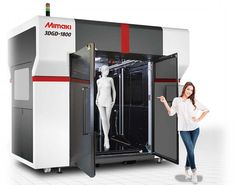 Mimaki's New Large-Scale Printer « Fabbaloo Large 3d Printer, Color 3d Printer, 3d Printer Kit, Inkjet Printer, Color Mixing Chart, 3d Printing Business, 3d Printed Objects, 3d Printer Filament, Computer Setup