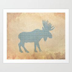 rustic nursery, moose nursery, woodland nursery, nursery...