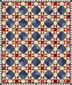 Pat Speth, Nickel Quilts. Sweet Land of Liberty EQ6 image