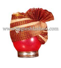 Classic Red And Beige Jodhpuri #Turban http://www.bagteshfashion.com/accessories/wedding-turban