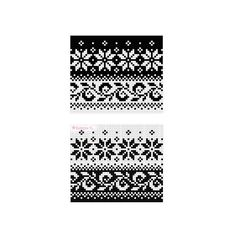 """The leaves pattern is an old design, first published in Annichen Sibberns book """"Norske strikkemonstre"""" (1905). The star is the classic little selbustar, famous from Norwegian knitting designs for centuries."""