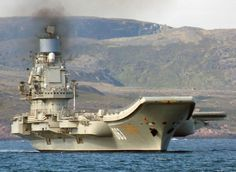 Russian Aircraft Carrier Admiral Kuznetsov with Its Su-33 Flanker-D  However I don't see the aircraft