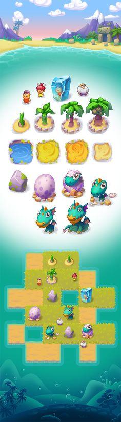 Dragons Era on Behance
