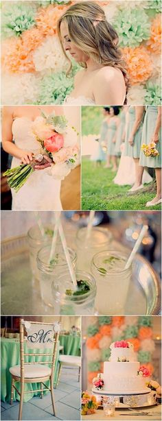 wedding color idea; photo: Joyeuse Photography