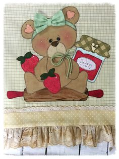Christmas Crafts, Patches, Quilting, Teddy Bear, Sewing, Baby Embroidery, Pink Blossom, Funny Throw Pillows, Scrappy Quilts