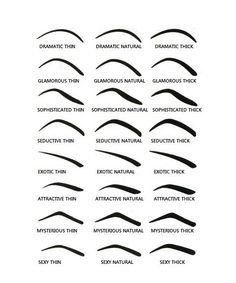 Choose from 8 different styles. Each style has 3 different types of shapes to create an array of shaped eyebrows from a natural look to a more dramatic look. NOTE: This is a Final Sale item. Once purchased, item cannot be exchanged and/or refunded. Types Of Eyebrows, How To Draw Eyebrows, How To Draw Hair, Best Eyebrows, Anime Eyebrows, Eyebrows For Face Shape, Eyebrow Makeup Tips, Skin Makeup, Makeup Brushes