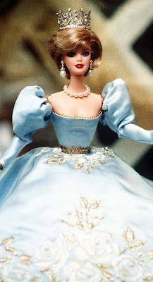 Barbie as Diana - Princess of Wales  awesome Barbie doll and is like princess diana