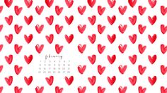 February 2015 Free Wallpapers are Here (and We <3 Them)!