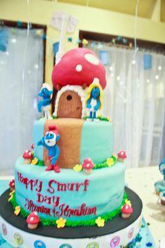 "Photo 8 of 13: The smurfs / Birthday ""Smurfin' Day"" | Catch My Party"
