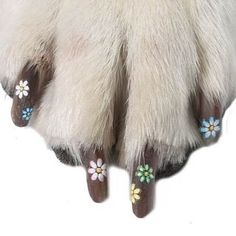 Dog Nail Applique Stickers