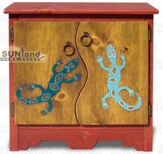 100_1240 - Gecko Mini Accent Cabinet - Nightstand --CM