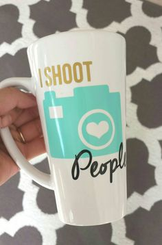 Check out this item in my Etsy shop https://www.etsy.com/listing/223616042/i-shoot-people-tall-coffee-mug-birthday