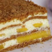 How to Make a Mango Float. A mango float is a delicious traditional Filipino dessert. Mango floats are quick, easy, and cheap to make. No baking necessary! Milk Recipes, Cake Recipes, Dessert Recipes, Mango Float Filipino, Mango Float Recipe Filipino Desserts, Mango Graham Cake, Graham Flour, Refreshing Desserts, Recipes
