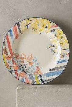Anthropologie Garden Palette Dinnerware  #anthrofave #anthropologie