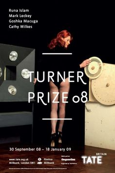 Turner Prize 2008 exhibition poster