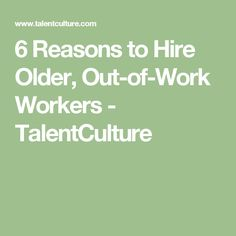 9 major job-search changes for older workers | Things Career ...