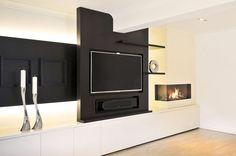 Earthy Living Room, Tv Above Fireplace, Flat Screen, Home Decor, Tv Above Mantle, Blood Plasma, Decoration Home, Room Decor, Tv Over Fireplace