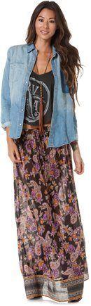 Billabong Wandering Moon Maxi Skirt (...     $39.99
