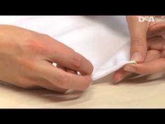 Cucimania #9 - Confezionare l'angolo della tovaglia - YouTube