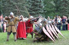 Hämeen keskiaikamarkkinat - Häme Medieval Faire 2013, Taistelunäytös - Combat Show, © Ulla Seppälä