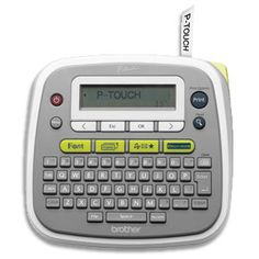 14 best label makers images on pinterest label makers label brother pt d200 p touch easy to use desktop label maker fandeluxe Images