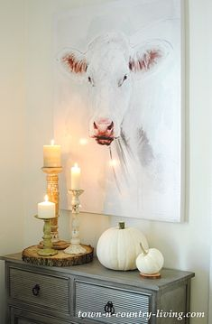 Tulip the Cow and Fall Vignettes