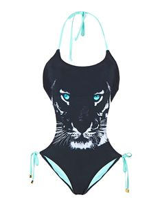 I THINK THIS MONOKINI IS REALLY COOL BEACUSE OF THE GRAPHICS AND I LOVE HOW THE LIGHT BLUE REALLY POPS OUT.